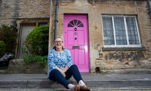 Janine Renshaw-Beauchamp … Cirencester council informed her that she would have to change the colour of her pink front door.