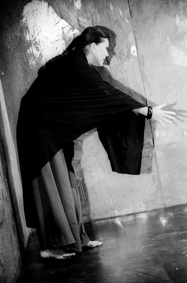 Diana Rigg in Medea by Euripides Almeida theater.