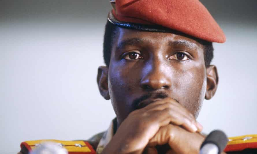 Captain Thomas Sankara in 1983.