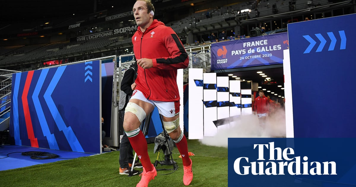 Wales captain Alun Wyn Jones will set world Test caps record against Scotland