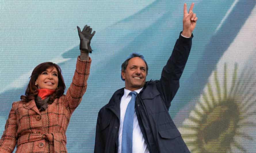 Argentine President Cristina Fernandez de Kirchner.