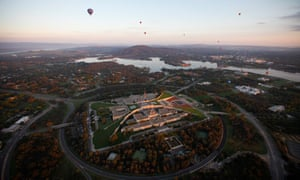Canberra's new Parliament House on Capital Hill was opened in 1988.