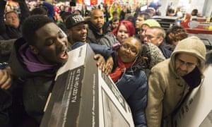 Black Friday sales at Asda Wembley Superstore