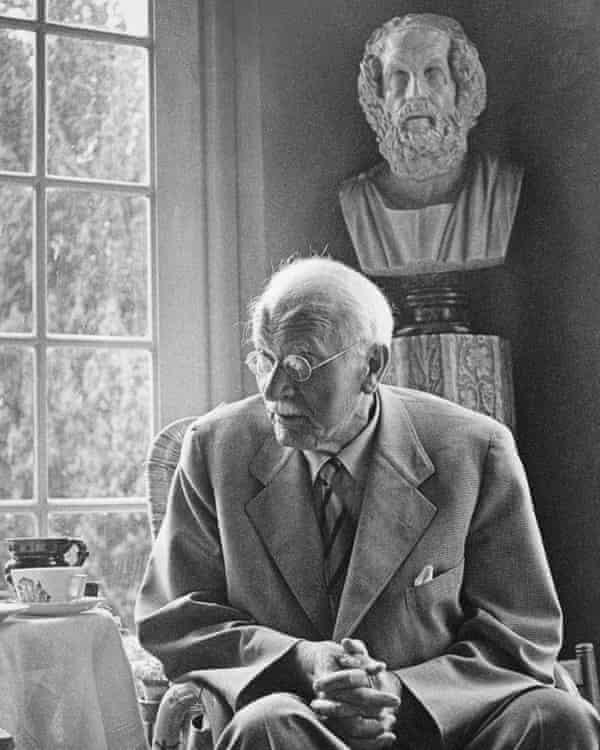 Carl Jung in 1950.