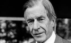 John Kenneth Galbraith pictured in September 1978