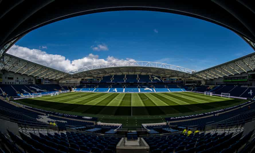 The conditions at Brighton's Amex Stadium are replicated at the club's training ground, says Paul Barber.