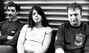 They paved the way … Greg Norton, Grant Hart and Bob Mould of Hüsker Dü.