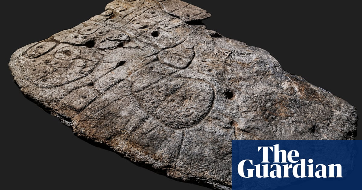 Stone slab found in France thought to be Europe's oldest 3D map