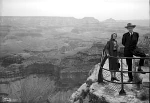 Lord and Lady Halifax, of England, stand at Mather Point on 13 May 1944.