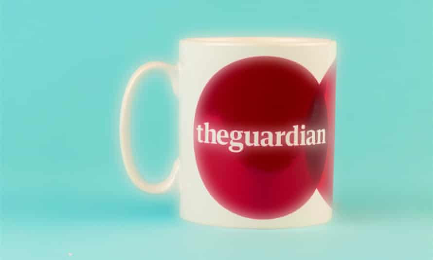 Shining achievement ... the coveted Not the Booker prize trophy (mug).