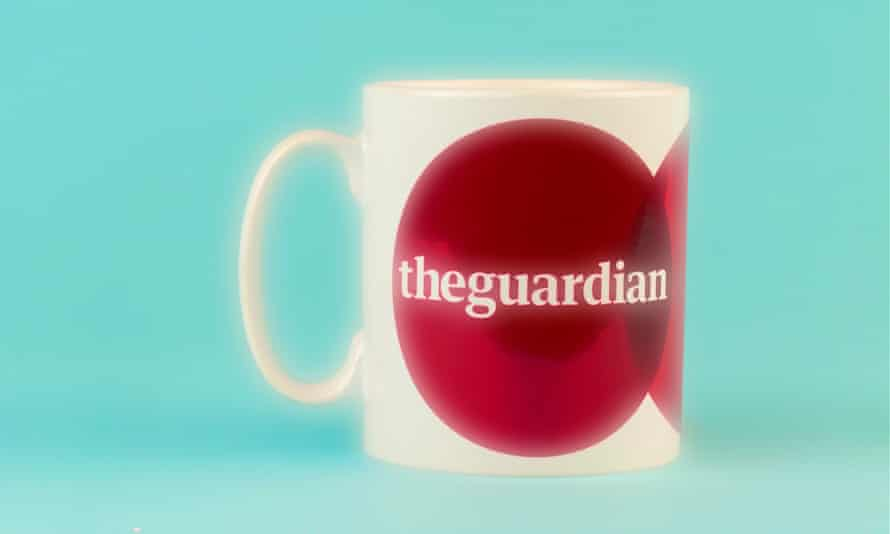 Glimmering prize ... the coveted Not the Booker prize trophy (mug).