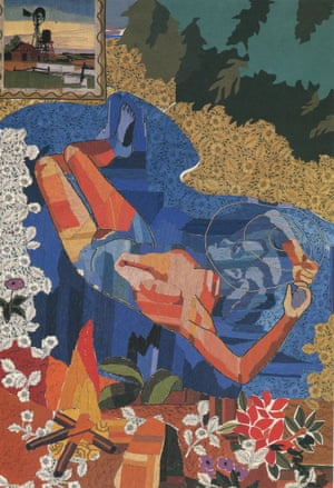 Steven Campbell's Fake Ophelia