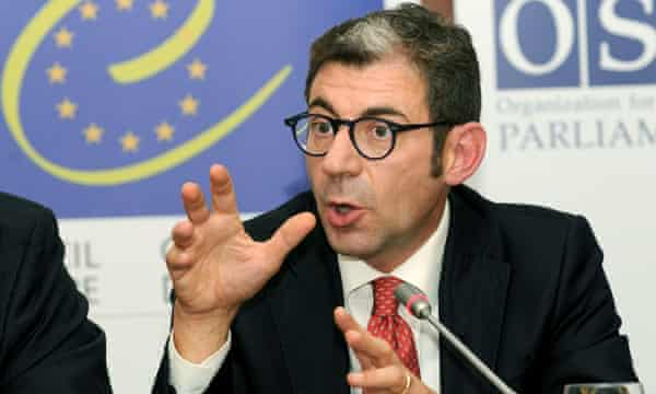 Luca Volontè, a former Council of Europe parliamentary assembly member, is being investigated by the Milan public prosecutor's office over bribery allegations.