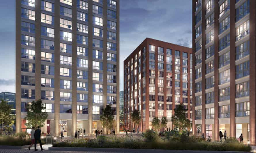 Blackwall Reach, a £300m 'vibrant collection' of 1,575 homes, will be built in the housing estate's place.