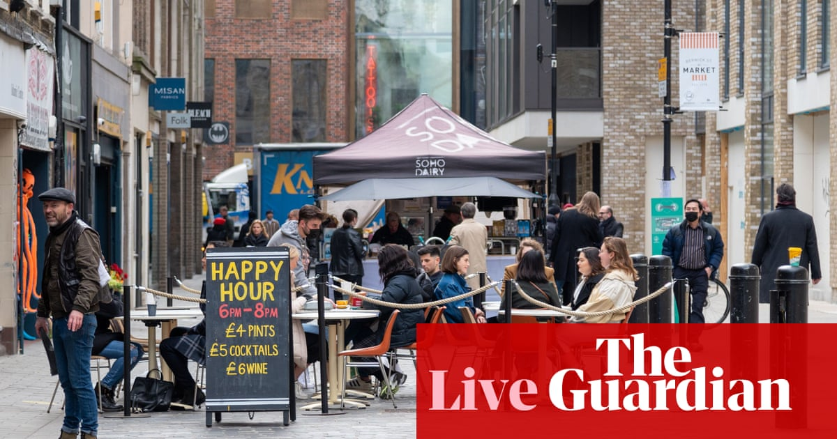 Signs of recovery in UK labour market as unemployment rate falls and payrolls rise – business live