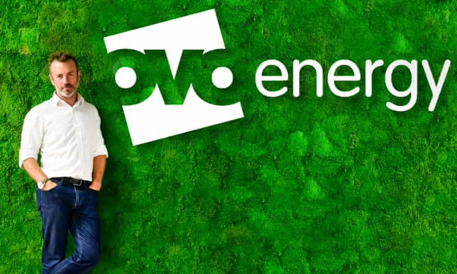 Stephen Fitzpatrick founded Ovo Energy in Bristol 10 years ago.