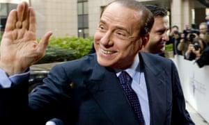 Ancien Premier ministre italien Silvio Berlusconi.
