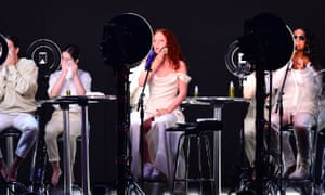 Jess Glynne and HER perform