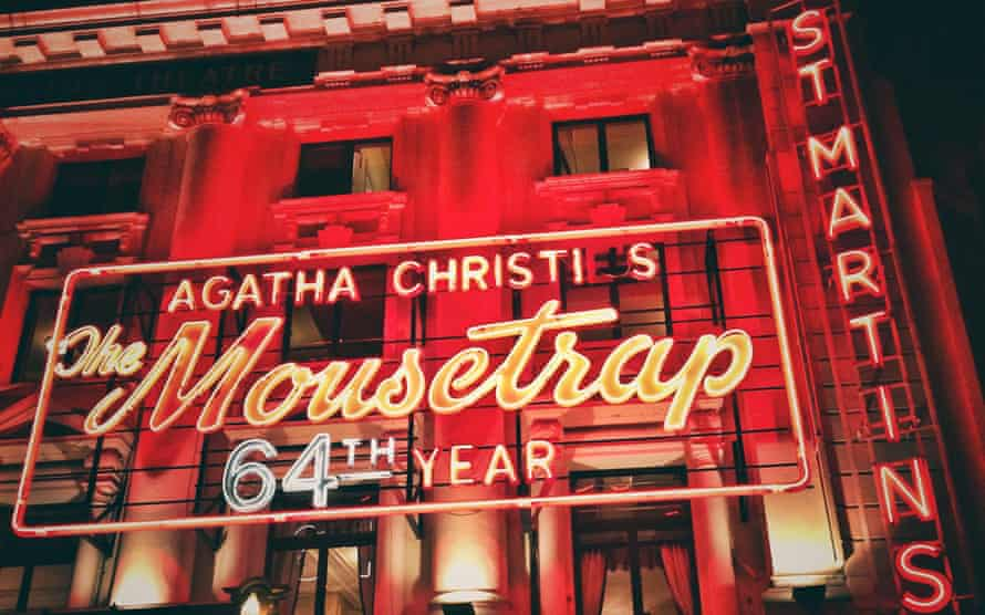 Gambling on a domestic audience … The Mousetrap.