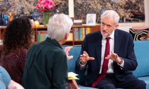 Jeremy Corbyn's appearance on ITV's Good Morning allowed him to burnish his man-of-the-people status.