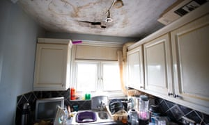 Without the bargaining power to force landlords to make repairs, many renters live in dark and damp properties.