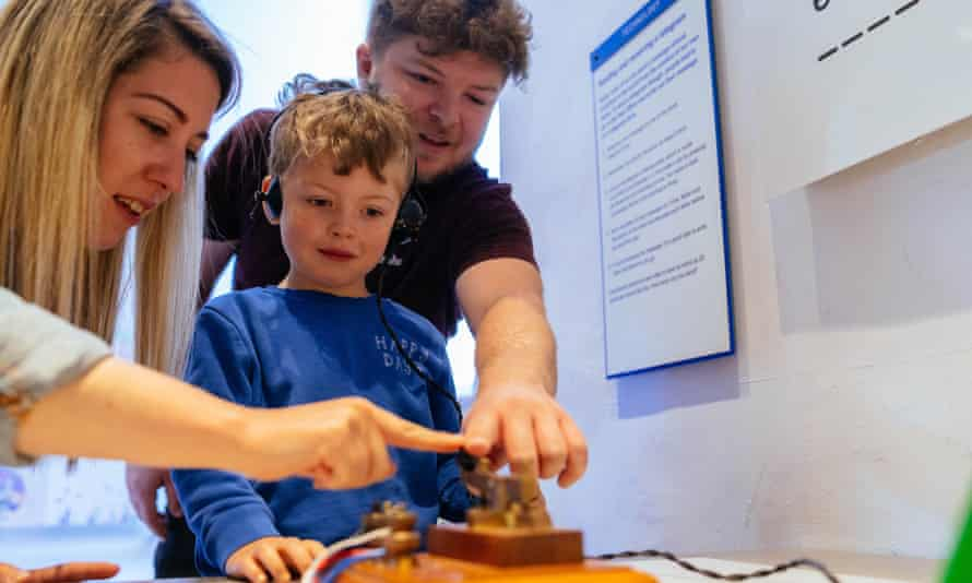Morse code machine at PK Museum of Global Communications