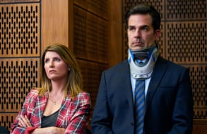 Sharon Horgan and Rob Delaney in the 'filthily human' Catastrophe.