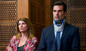 Scabrous … Sharon Horgan and Rob Delaney in Catastrophe.