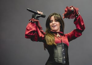 Cabello performs at a music festival this year.