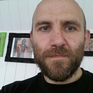 Chris Silvester, tattoo artist and former teacher
