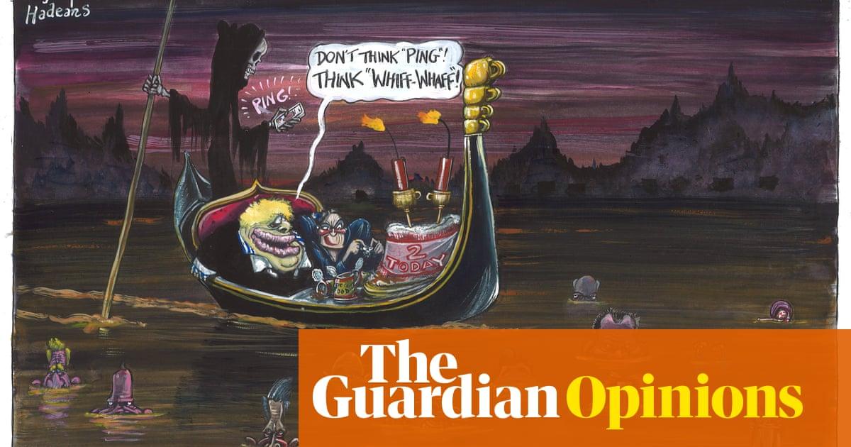 Martin Rowson on the UK's coronavirus journey – cartoon