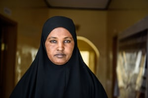 Hamda, a 30-year-old mother of two