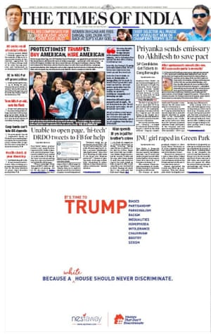 The Times of India, Delhi