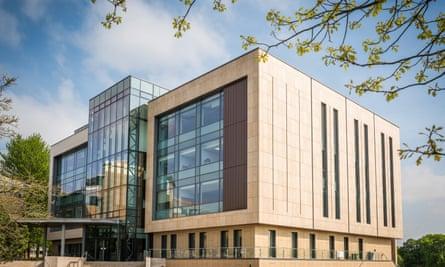 The new psychology building at Bath University.