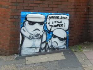Storm TroopersI loved this Storm Trooper street art Photograph: VernaEvans/GuardianWitness