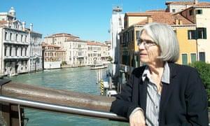 Donna Leon in Venice.