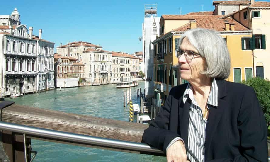 Donna Leon in Venice, where she spends a week each month.