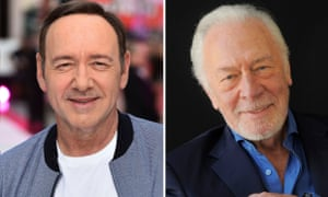 Kevin Spacey and Christopher Plummer, his last-minute replacement in All the Money in the World.