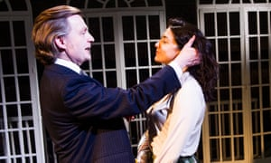 Alan Cox (RD Laing) and Amiera Darwish (Ulrike Engel) in The Divided Laing