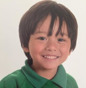 Julian Cadman, a seven-year-old Australian boy missing in Barcelona after the attack.