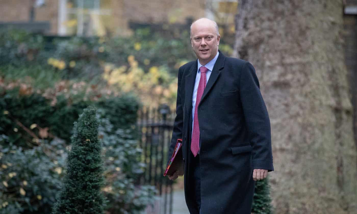 Chris Grayling: Tory in combative mood to deal with rail union bosses