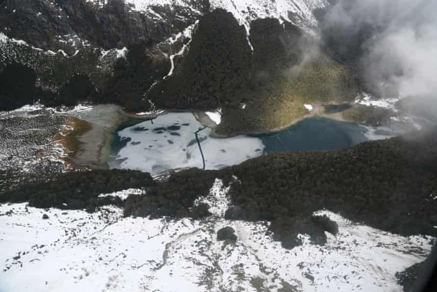 A view from the Routeburn track. Pavlina Pizova and Ondrej Petr began hiking the route before losing their way and Petr slipped to his death.