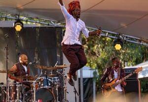 Congolese rapper Baloji.