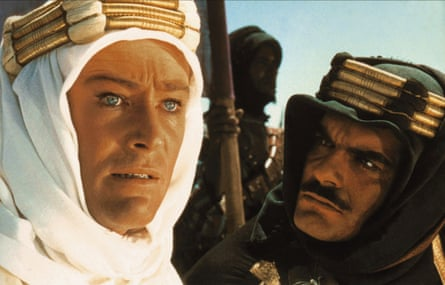 Peter O'Toole and Omar Sharif in David Lean's Lawrence of Arabia (1962)