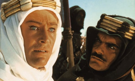 Peter O'Toole and Omar Sharif in David Lean's 1962 Lawrence of Arabia
