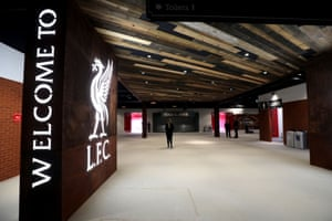Within the new Main Stand