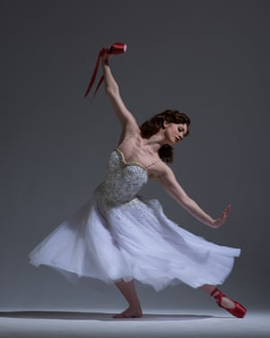 Ashley Shaw as Vicky Page in Matthew Bourne's The Red Shoes.