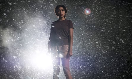 Do I have a future? It's unclear … Amandla Stenberg in The Darkest Minds.