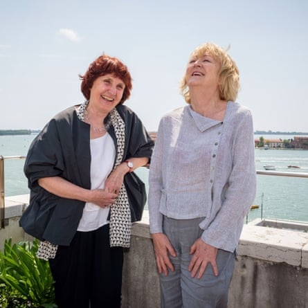 Chance discoveries … biennale curators Shelley McNamara, left, and Yvonne Farrell of Grafton.