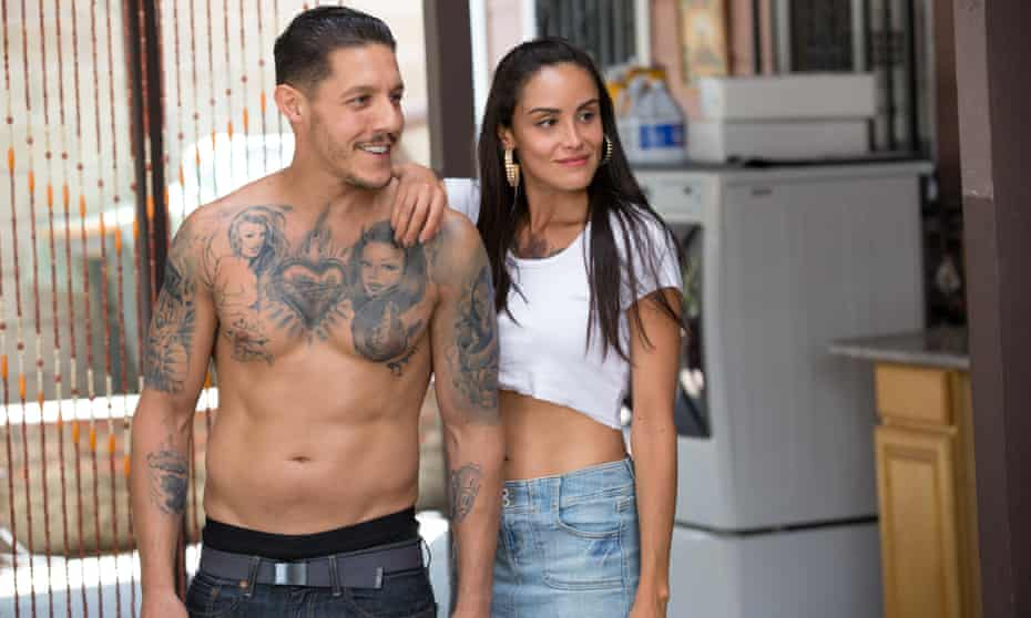 Theo Rossi and Johanna Sol in Lowriders.